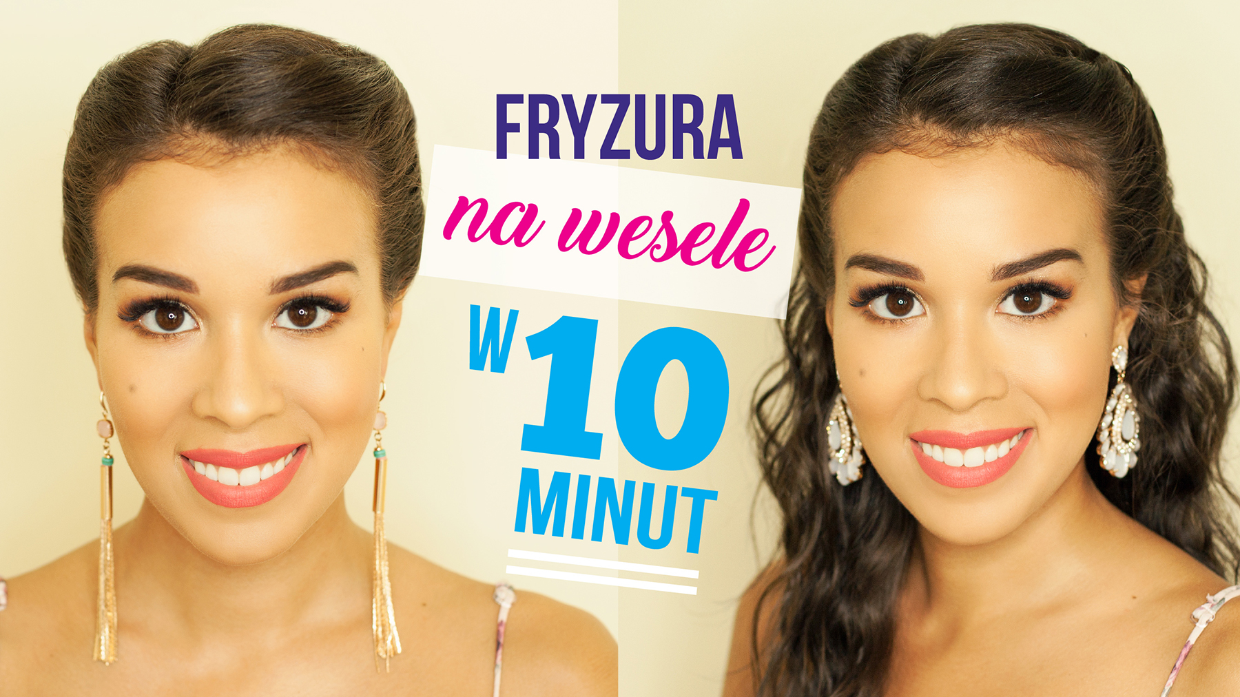 Wideo Fryzura Na Wesele W 10 Minut Macademian Girl